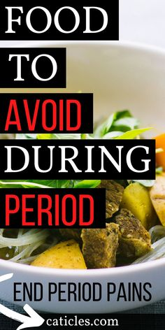 Stop Period Cramps: Pain-Free Infradian Rhythm Hacks Every Girl Needs - Period Hacks - In need of period hacks tips? These are the best period hacks for beginners. Learn about your infra - Period Cramp Relief, Period Cramps, Good Foods To Eat, Foods To Avoid, Period Hacks, Period Tips, Foods For Cramps, Heavy Period With Clots, Food For Period