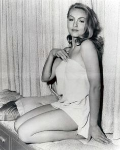 Julie Newmar- apart from being a complete maneater was the first live action Catwoman