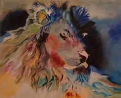 Lion, Fine Art By Caron Sue Staney