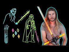 How Lightsaber Color Tells Us What They're Really Made of! (Because Science w/ Kyle Hill) - YouTube