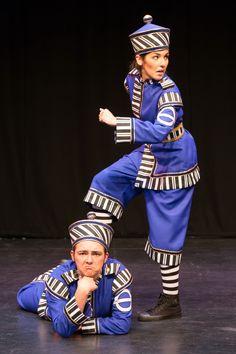 Aladdin at the Corn Exchange, Newbury Fri 28 Nov - Sun 4 Jan Policeman Ping and Pong! #Panto #Pantomime