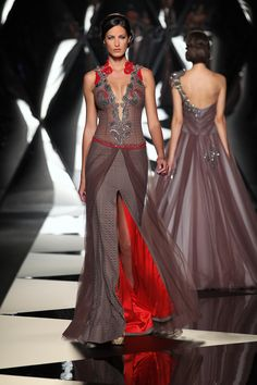 The Mireille Dagher Fall-Winter 2013-14 Haute Couture Collection - Fashion Diva Design