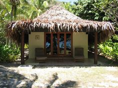 Fijian Bure, tiny houses