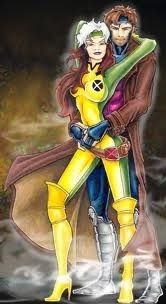 rogueslove Rogue and Gambit by Shellsweet | Rogue and Gambit | Pinterest | Rogues Marvel and Comic  sc 1 st  Pinterest & rogueslove: Rogue and Gambit by Shellsweet | Rogue and Gambit ...