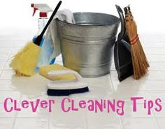 Cleaning Tips so you don't get overwhelmed with an entire house to clean all at once. Try micro-cleaning!