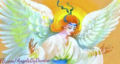 Today, ask your angels for help with everything.  Facebook.com/AngelsByDanica