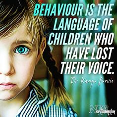 """Behaviour is the language of children who have lost their voice. Conscious Parenting, Parenting Quotes, Parenting Advice, Kids And Parenting, Mom Quotes, Quotes For Kids, Life Quotes, Will Turner, Behavior"