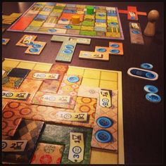Patchwork by Mayfair Games. Photo by: @SHeartsOrRivals youtube.com/sweetheartsorrivals