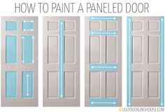 Mommy Makes Things : DIY Easy Front Door Painting