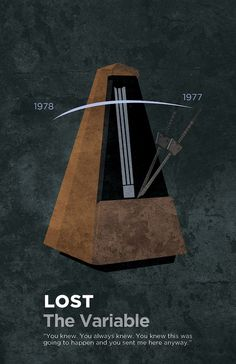 Gideon Slife created a poster for every LOST episode from every season leading up to the finale.The Variable.