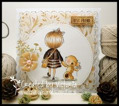 Vixx Handmade Cards: LILI OF THE VALLEY DT POST ~ A HAND TO HOLD....