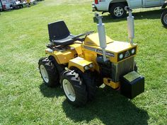 Homemade garden mini tractor 4x4 homemade tractors Pinterest