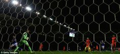 Final act: Taylor-Fletcher (left) starts to celebrate as the ball trickles into the corner  Read more: http://www.dailymail.co.uk/sport/football/article-2530693/Leicester-5-Bolton-3-Match-report.html#ixzz2oy9fFa4l  Follow us: @MailOnline on Twitter | DailyMail on Facebook
