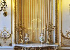 부르발레 호텔 그랜드 살롱, 전형적 로코코 장식 hotel de bourvallais grand salon paris