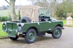 1950 Land Rover Series I 80 Inch - Silverstone Auctions