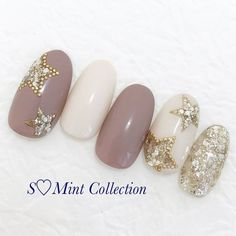 ネイルデザイン人気ランキング|ネイルブック in 2020 Christmas Nail Designs, Christmas Nails, Trendy Nails, Cute Nails, Aloha Nails, Faux Ongles Gel, Neutral Nail Art, Nail Lab, Soft Nails