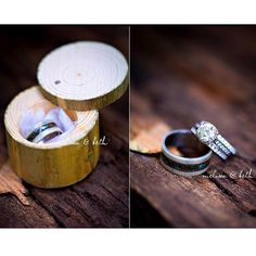 SALT PEPPER DIAMOND SET ON ANTLERTWIG STYLE WEDDING BAND