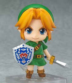 Nendoroid No. 553 The Legend of Zelda LINK Majora's Mask 3D Ver.