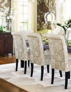 dining chair covers on pinterest dining chair slipcovers fabric