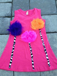 Girls tank dress the lorax custom dress the lorax by PetiteTutu, $32.00