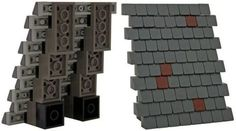 LEGO shingles & roofing techniques