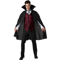 Horror Costume, Scary Costumes, Dress Up Costumes, Adult Costumes, Cosplay Costumes, Halloween Costumes, Costume Ideas, Mens Vampire Costume, Dracula Costume
