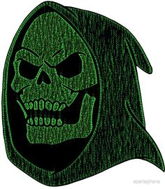Skeletor in Code #80's #nostalgia #vintage #retro #memories #cartoon #he–man #villain #nemesis #bane #shirts #tanks #longsleeve #hoodie #phonecase #mugs #stickers #kids #baby #pillow #tote #laptopcase #notebook #fashion #gift #present #birthday #Christmas