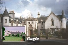 Gagie House near Dundee was built in 1614 and served as the dower house for the Laird-to-be of Guthrie Castle .... roots of my Guthrie family tree