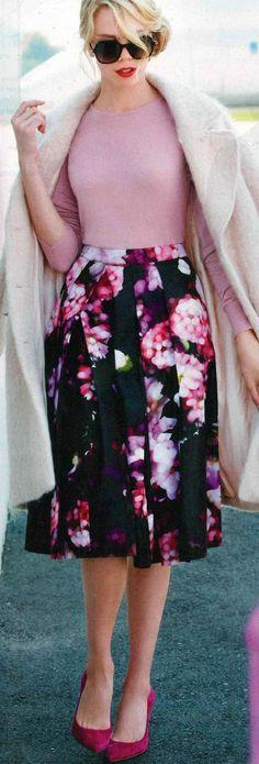 Love the color pallet!! floral | LBV ♥✤ | KeepSmiling | BeStayBeautiful #digitalprints #ChiChiLondon #ChiChiClothing