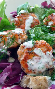 Easy Salmon and Dill Cakes