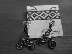 Aros de bicicleta, ganchos artesanales