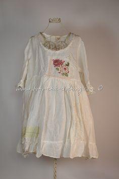 Wonderful dress/tunic FATA in linen from Nadir Positano SS 2015 shabby chic, boho chic, lagenlook, mori girl