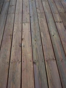 How To Cover A Concrete Porch With Wood Outside Living Pinterest And
