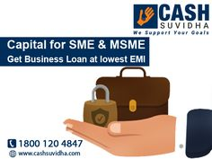 Cash Suvidha provide Business Loan at attractive interest rates. #WorkingCapital #LoanforSME #LoanforMSME #LowROI