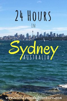 Sydney, Australia is arguably one of my favorite places on Earth. While it definitely takes more than one day to experience everything this incredible city has to offer, it is possible to hit a majority of the city's highlights in just one day. If you have a long layover, or just a really tight schedule, here's how you should spend 24 hours in Sydney.