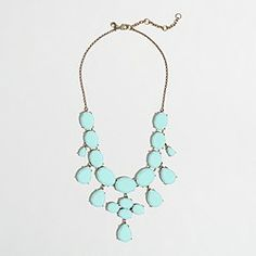 Factory crystal teardrop necklace - I got this yesterday and I am in love - MB.