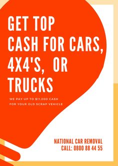 Why choose car removal Auckland? If you're thinking of getting rid of your old junk car on your driveway or lawn. Look no further, the best National car wreckers are here to give you a fast and easy service. We have seven trucks moving around Auckland every day and each truck can tow two vehicles at a time. We are the fastest and the easiest car wreckers to deal with. To arrange a car removal in Auckland, just give us a call on 0800 88 44 55 or fill out the form on our website.