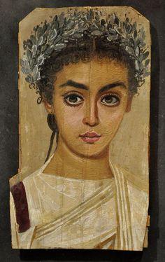 Bela dama (Retrato funerário de Fayum)