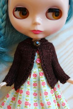 Hey, I found this really awesome Etsy listing at https://www.etsy.com/listing/180667487/blythe-doll-hand-knit-wool-cardigan