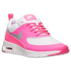 The Women\u0026#39;s Nike Air Max Thea Print Running Shoes - 599408 061 - Shop Finish Line today! Wolf Grey/Hyper Pink/White \u0026amp; more colors. Reviews, in-store pickup ...