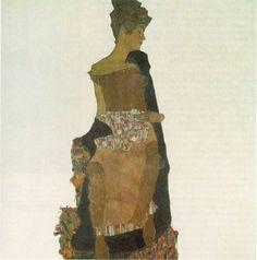 Egon Schiele  ゲルタ・シーレ MoMA