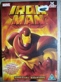 IRON MAN Special Edition Animated Series Over 3 Hours DVD Dvds For Sale, Animation Series, Iron Man, The Originals, Iron Men