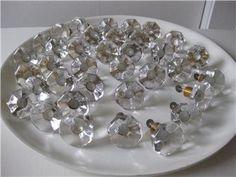 Transparent; Verrina Sweden Glass Knobs, Sweden, Chandelier, Ceiling Lights, Decor, Candelabra, Decoration, Chandeliers, Decorating