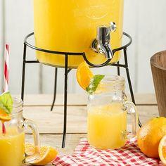 Limonádé adagoló üveg állvány - Üveg termékek - Konyhai kiegészítők - Termékek - Lakáskiegészítők webáruház