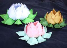 Fotopostup na lekno z papiera - foto postup 3d Origami, Rose, Flowers, Plants, Pink, Roses, Planters, Royal Icing Flowers, Flower