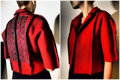 adoring Adrian Oianu Romania, Folk, Men Sweater, Leather Jacket, Coats, Couture, Inspired, My Style, Sweaters