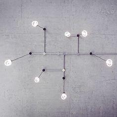 Instagram media by stickmanchris - The @plumen bulbs @madebrave studio are like modern art #brightideas #plumen #art
