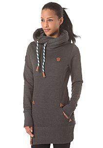 naketano Lange VIII - Hooded Sweatshirt for Women - Grey