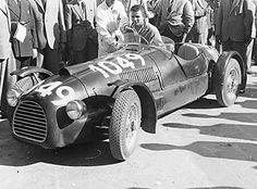 1948 mille miglia - tazio nuvolari, andrea scapinelli (ferrari 166sc) dnf broken leaf spring 1 | Flickr - Photo Sharing!