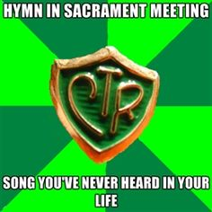 My ward here in Fayetteville is like this. We sing a lot of songs that I have never even heard before.